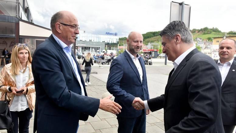 Župan Kolar bio u kontaktu sa zaraženim, a jutros se rukovao sa predsjednikom Milanovićem