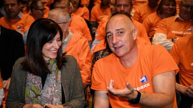 Zagreb: HNS predstavio kandidate za izbore za EU parlament