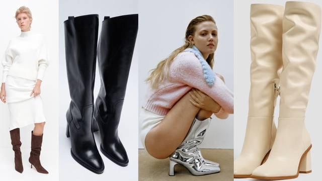 Fine u raznim bojama: Top 10 divnih čizama s potpeticom