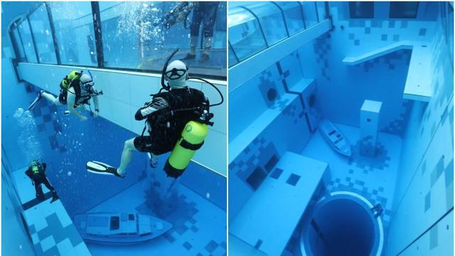 Poljska ima najdublji bazen na svijetu s padom od 45,5 metara