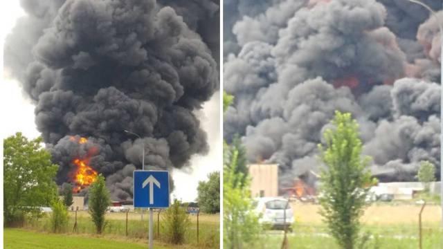 Drama u Grubišnom Polju: Vatrogasac se nagutao dima