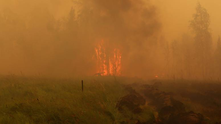 Šumski požari u ruskoj Jakutiji prouzročili rekordne emisije CO2