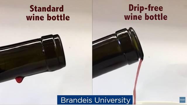 Stop mrljama od vina: Izumio bocu s koje neće pasti ni kap