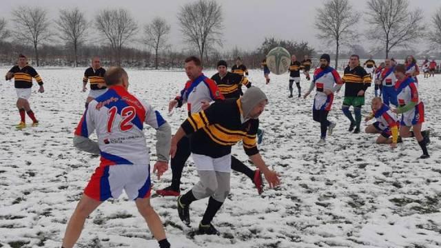 Srpski ragbijaši igrali utakmicu za pomoć Petrinji, Sisku i Glini