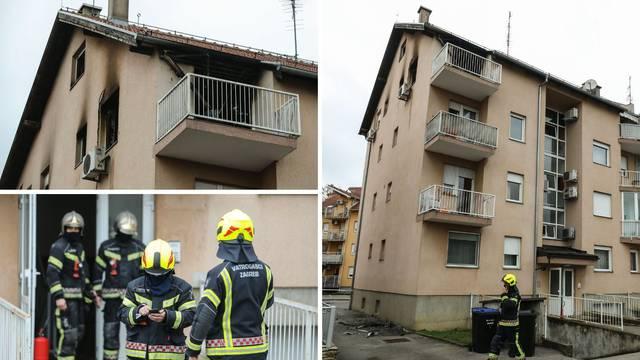 Na Božić gotovo cijeli izgorio stan u Zagrebu, par istrčao van, od šoka nisu mogli ni govoriti