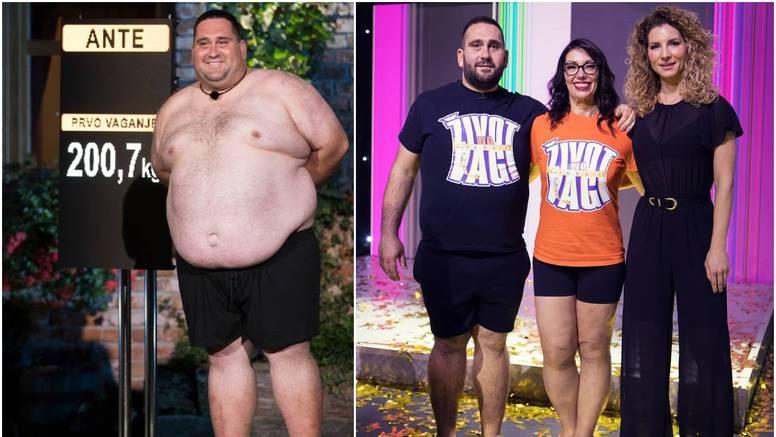 Ante skinuo najviše kila, ali nije pobijedio: Pošteno je to pravilo, inače žene ne bi imale šanse...