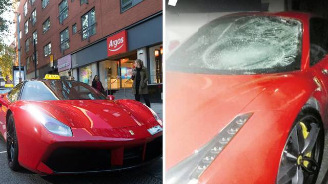 Slavonskom biznismenu jelen razbio Ferrari od 2,3 milijuna kn