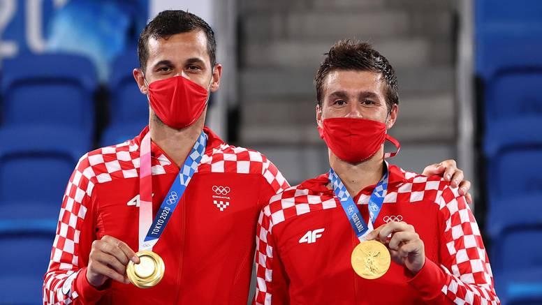 Mektić i Pavić postali olimpijski pobjednici! Kumovima srebro u prekrasnom hrvatskom finalu