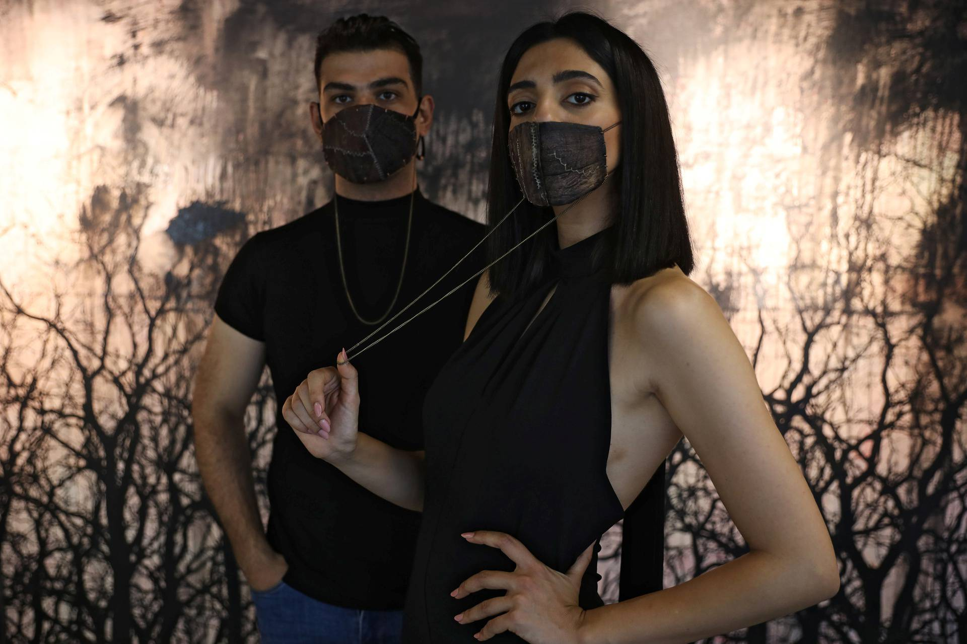 Jordanian chef develops eggplant 'leather', creates sustainable face masks in Amman