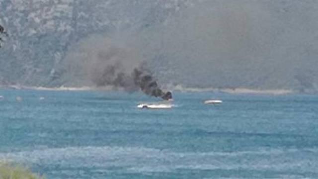 Video: Na gorućem gliseru bila su dva Nijemca, brodica im je sad na dubini od 52 metra