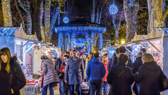 Advent na ulicama Zagreba