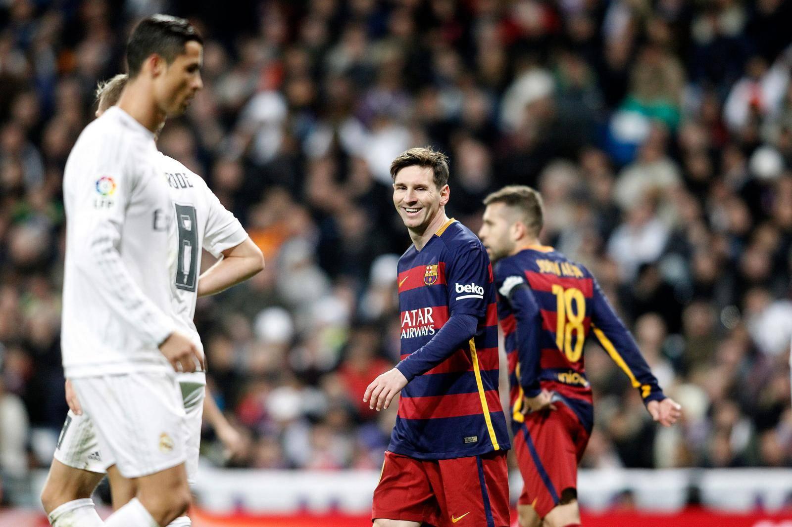 REAL MADRID v FC BARCELONA.LA LIGA 2015/2016.