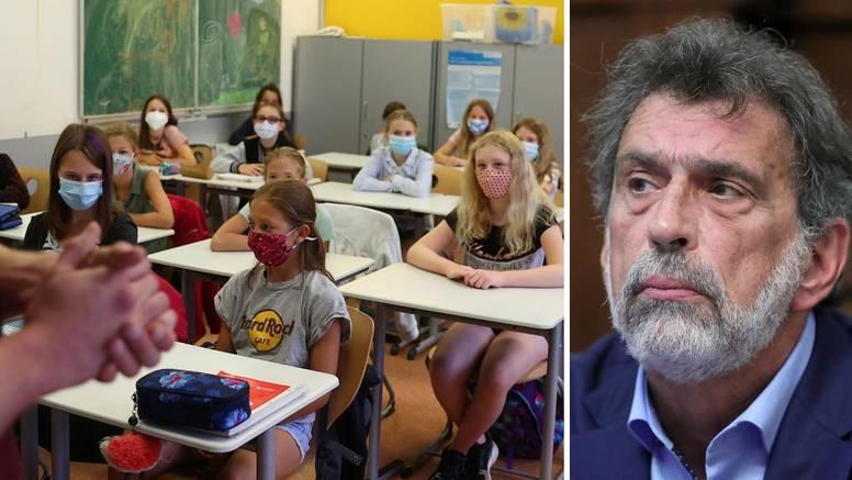 Samo u pet županija nastava u školama, Fuchs poručio: Idemo s modelom cijepljenja nastavnika