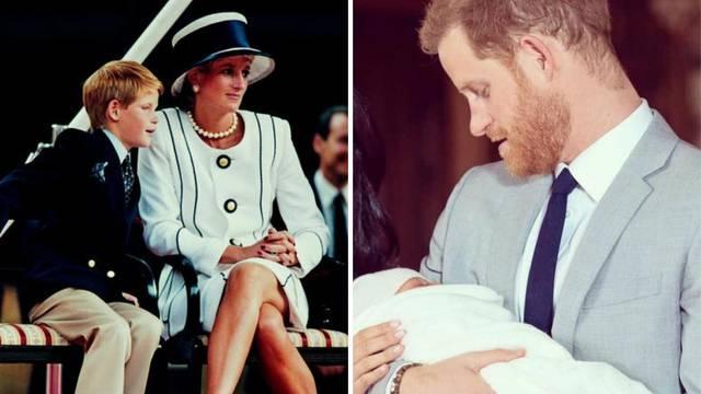 Princ Harry o sinu: Moja mama je svima bila uzor, bit će i on...
