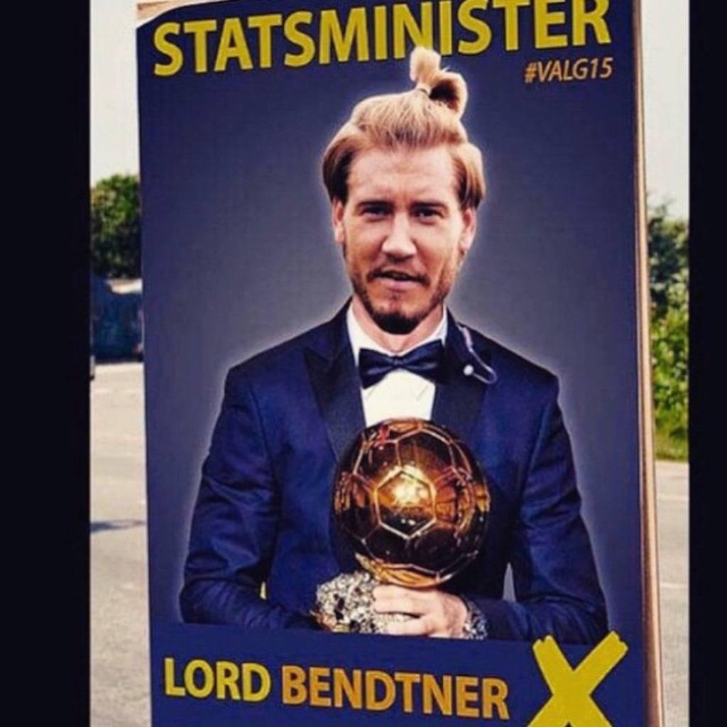 Instagram/Nicklas Bendtner