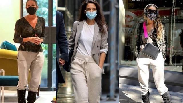 Hlače od trenirke mogu biti stylish: Dobro ih nose Sarah Jessica Parker i Katie Holmes