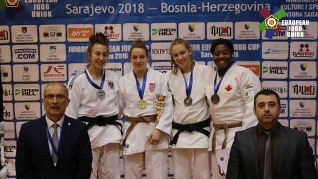 Osam hrvatskih medalja na Europskom juniorskom kupu