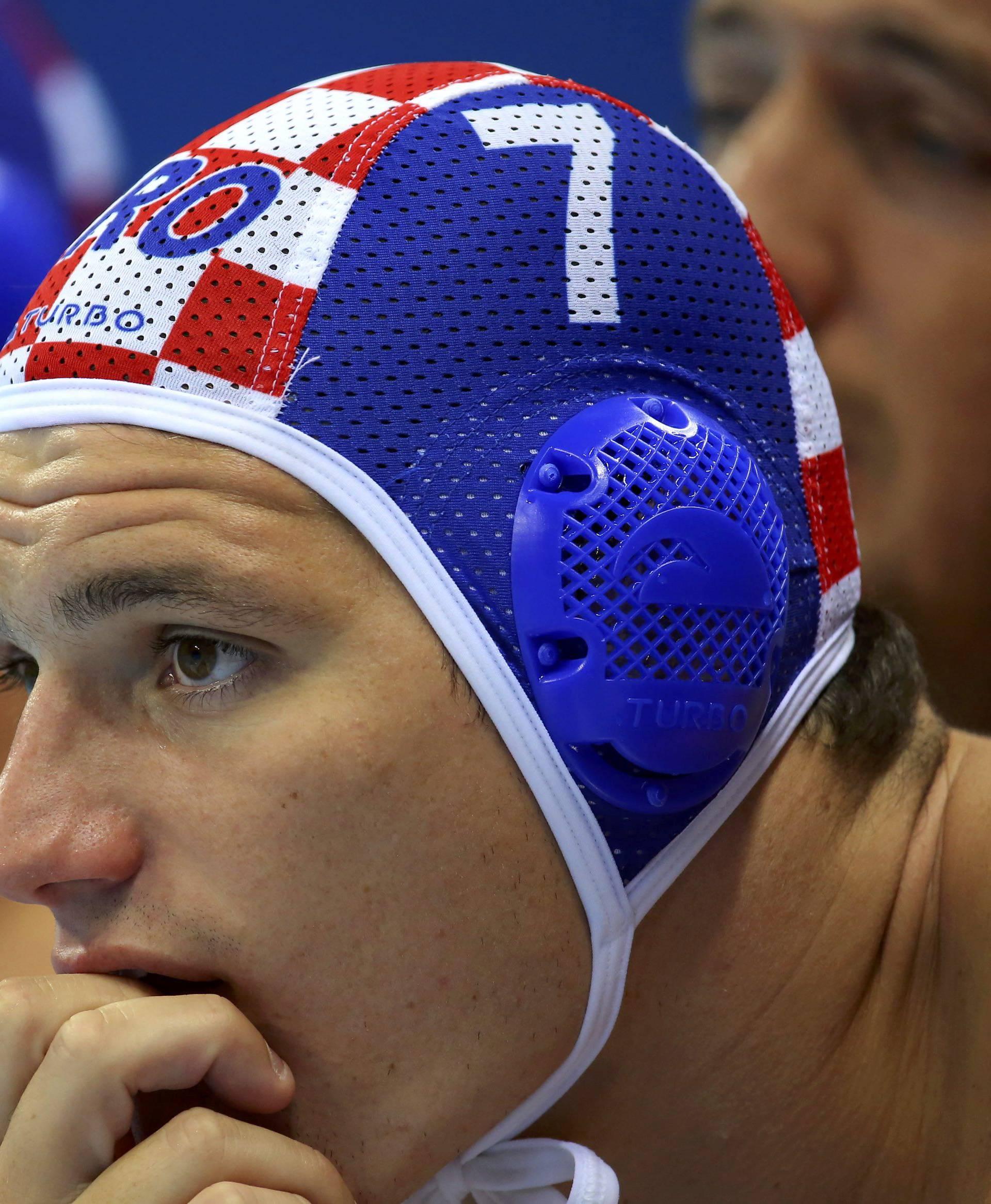 Water Polo - Men's Preliminary Round - Group B France v Croatia