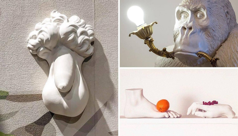 Umjetnik radi neobične, pomalo bizarne predmete za dekoraciju