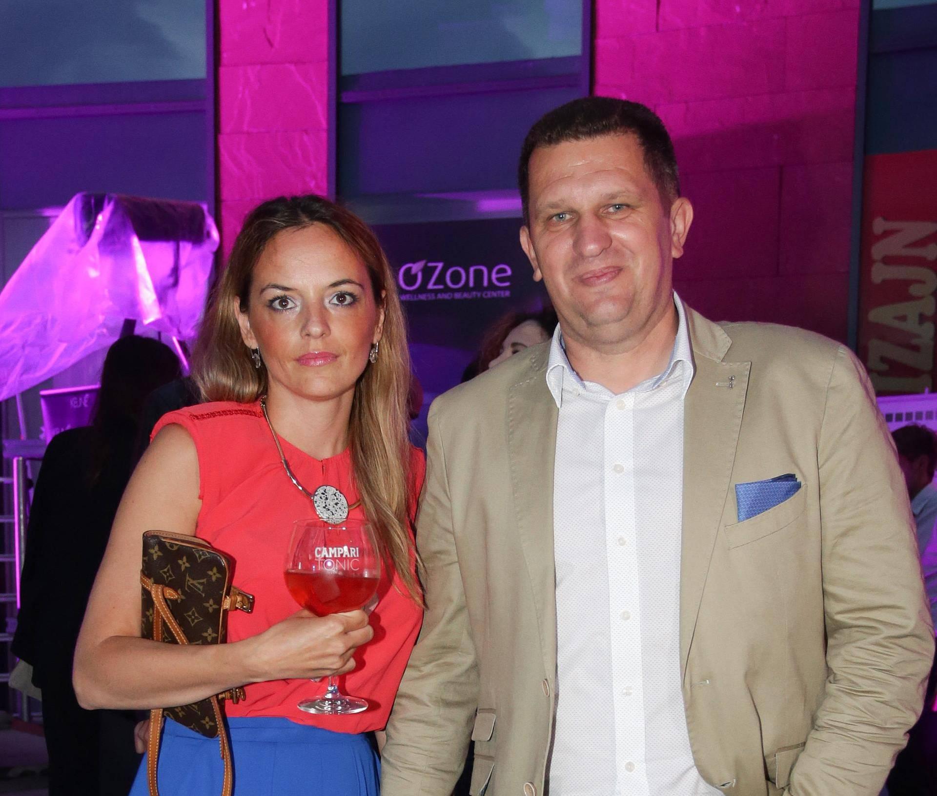 Ljubitelji mode: I. Cvitanović izveo ženu na reviju svoje bivše