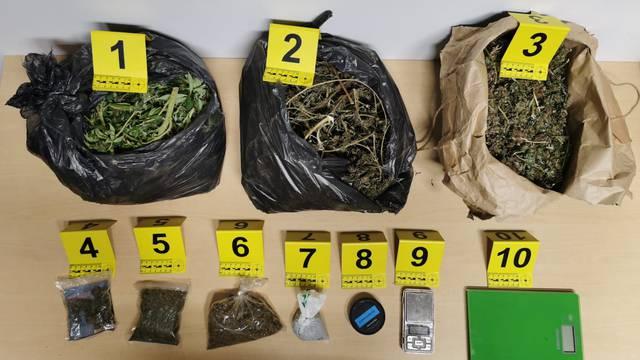 Riječki policajci u dva tjedna uhvatili 26 ljudi s drogom