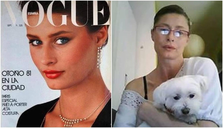 Kao manekenka je zarađivala milijune, a danas je beskućnica
