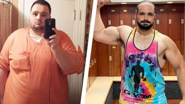 Pobijedio depresiju u teretani i usput je skinuo 100 kilograma