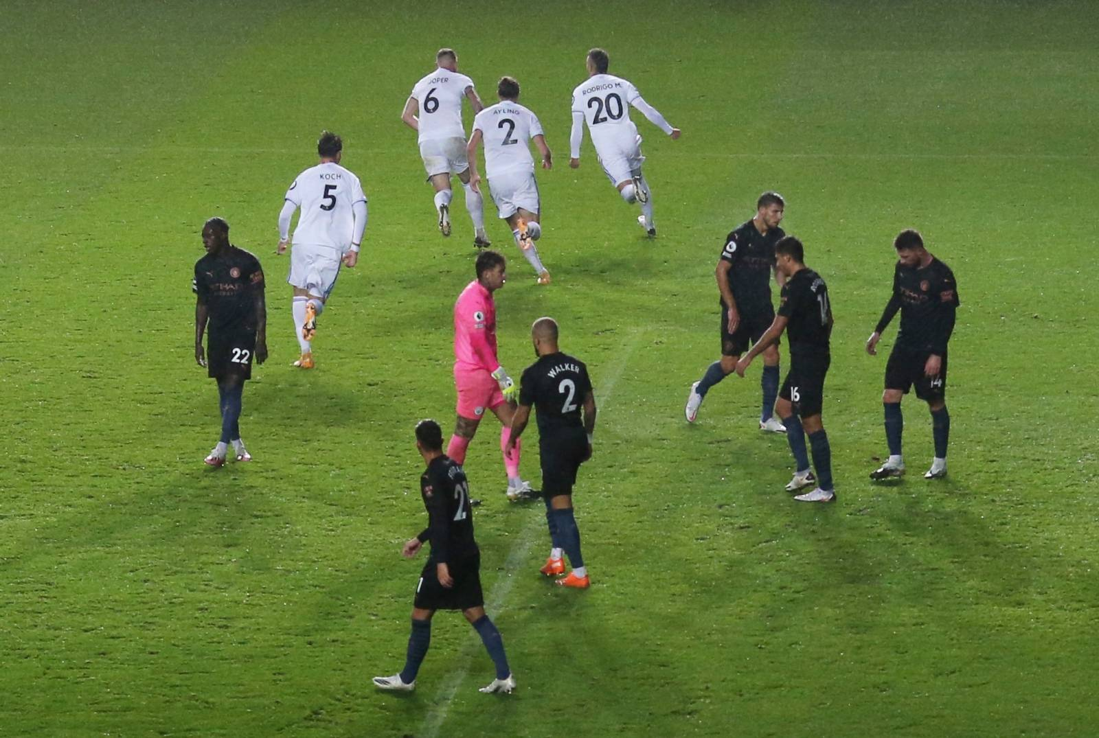 Premier League - Leeds United v Manchester City