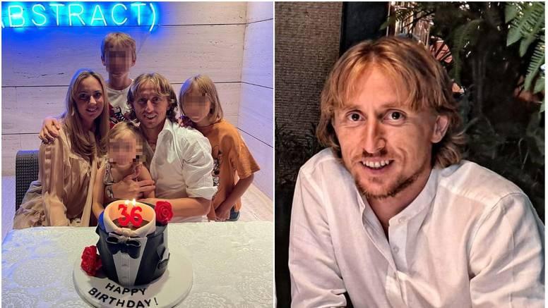 Luka Modrić proslavio rođendan sa ženom i djecom: Hvala svima