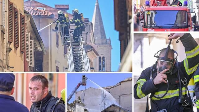Pogledajte kako su vatrogasci uspjeli savladati buktinju u Zadru: Borba trajala čak pet sati