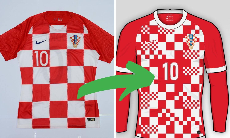 Evolucija kvadratića: Je li ovo novi dres 'vatrenih' za Euro?