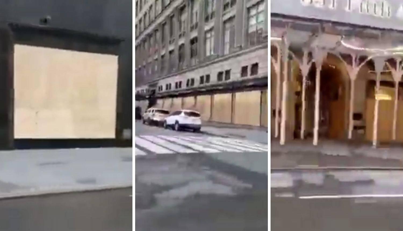 Prosvjednici razbili trgovine na Petoj aveniji: 'Dior, Chanel, sve je uništeno i zatvoreno  sada'