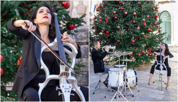 Rucner je snimila božićni spot s bubnjarom Markom: Mjesecima se šuška da su u ljubavnoj vezi