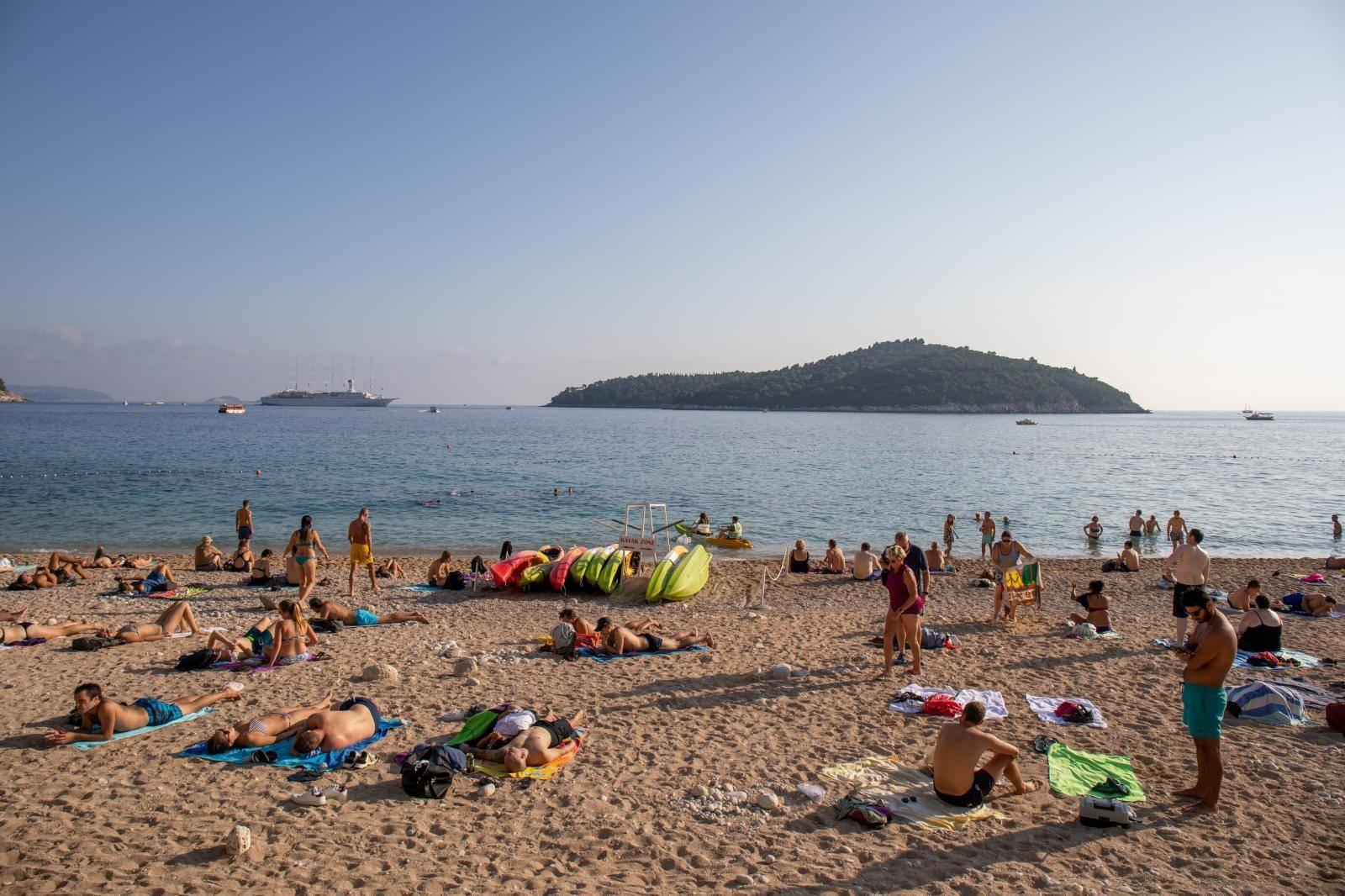 Sunčan dan u Dubrovniku