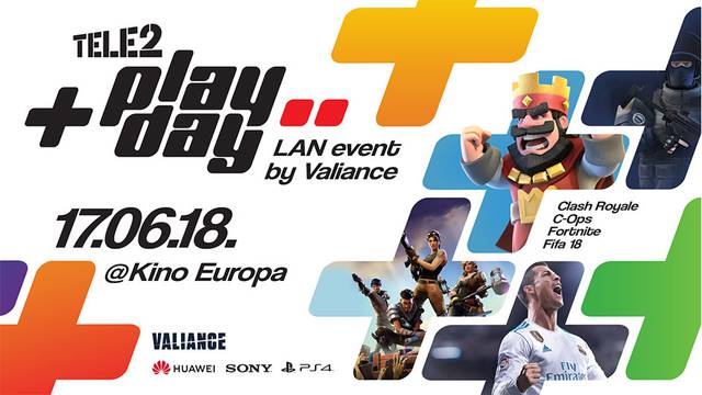 Clash Royale OFFLINE/LAN Tele2 PlayDay event