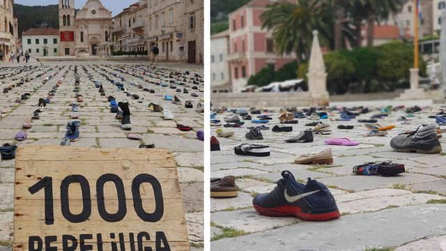 'Tisuću Pepeljuga' izbacilo je more: Cipele skupljao 2 godine