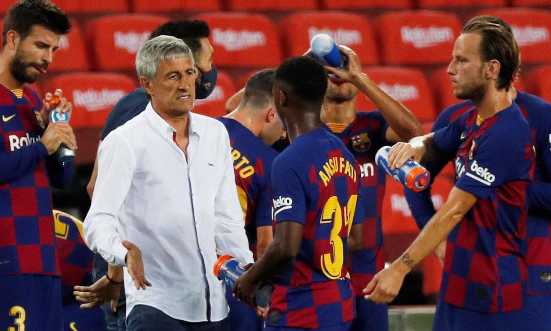 Setién preživio krizni sastanak: Vodit će Barcelonu u Ligi prvaka