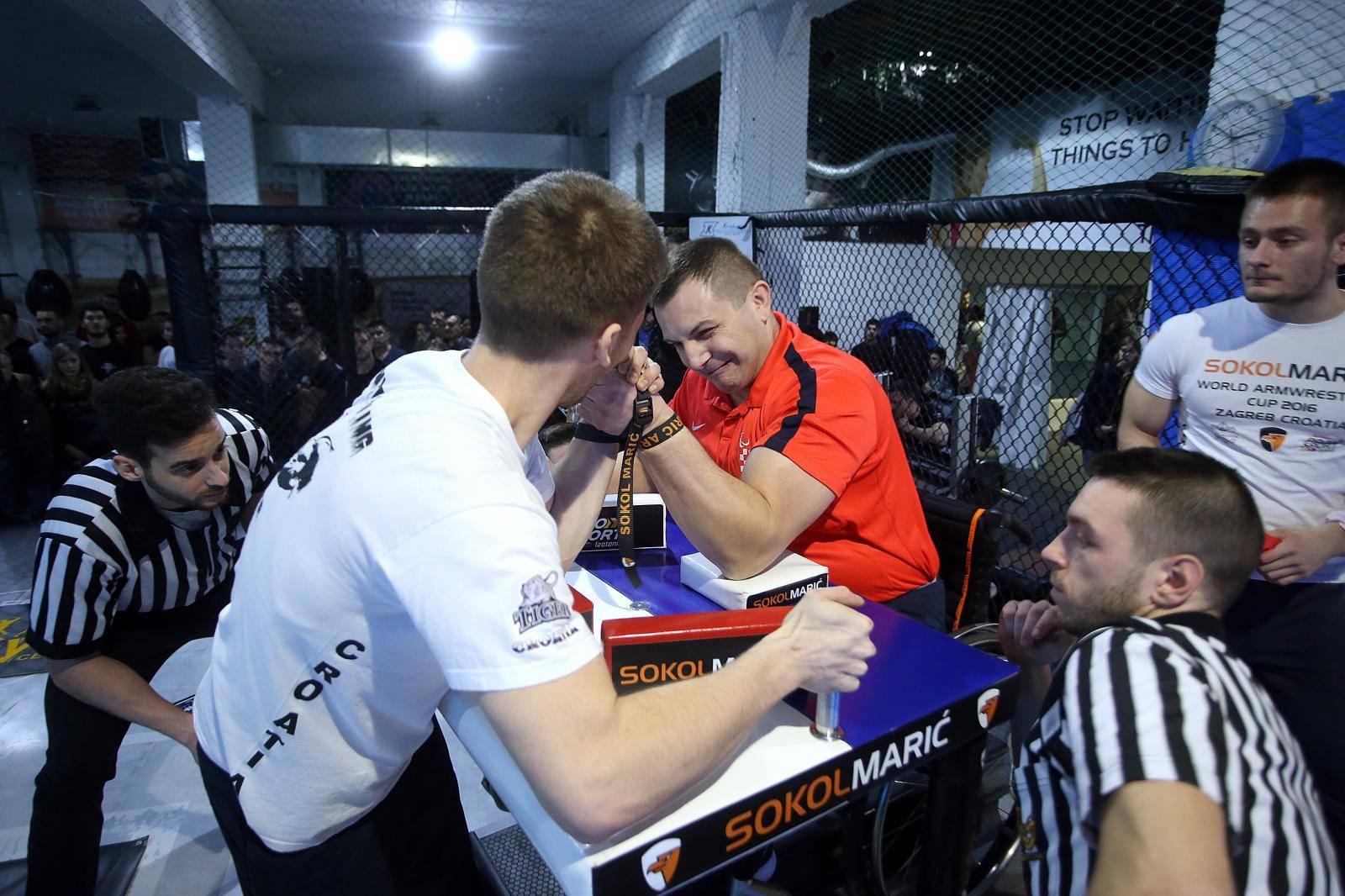 Na četiri godine suspendiran je hrvatski prvak u obaranju ruke