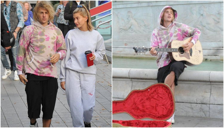 Bieber je postao ulični svirač: Svojoj Hailey svirao serenade