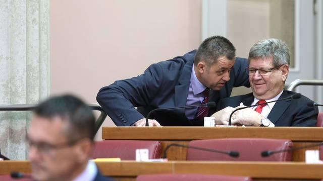 Zagreb: Sabor raspravlja o sudskim pristojbama