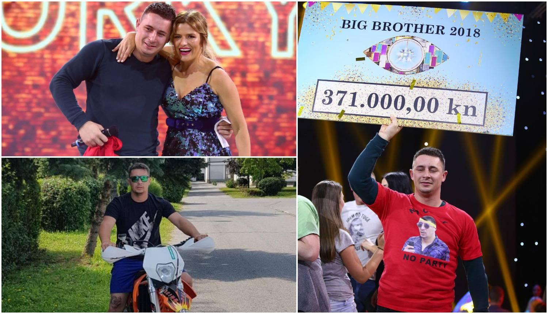 Pobjednik Big Brothera: Još nisam uspio potrošiti svu lovu