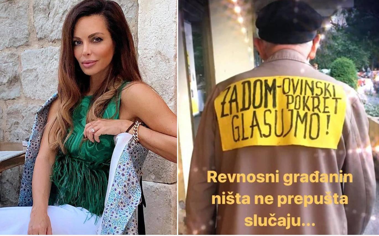 Opet objavila fotke i obrušila se na penzića koji glasa za Škoru...