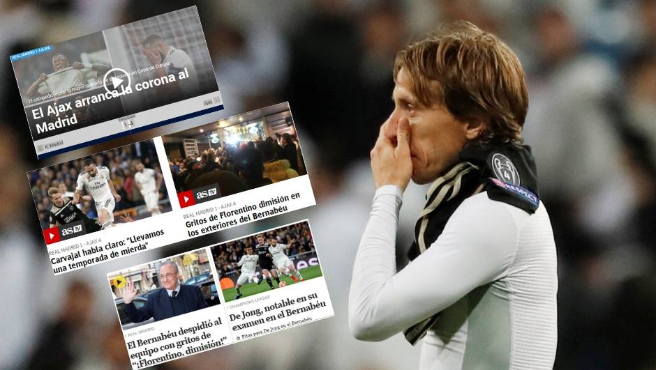 Španjolski mediji: Ajax otrgnuo krunu Realu, pozdrav titulama