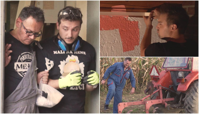 Mejaši u spotu pokazali umijeće zidanja, šmirglanja i oranja...
