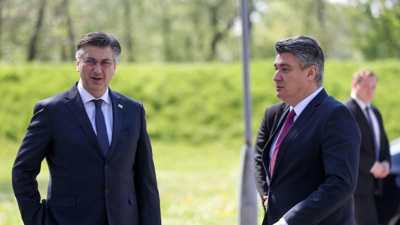 Plenković ide sutra Milanoviću, a danas u 13 sati se sastaje sa svojom većinom u Baltazaru
