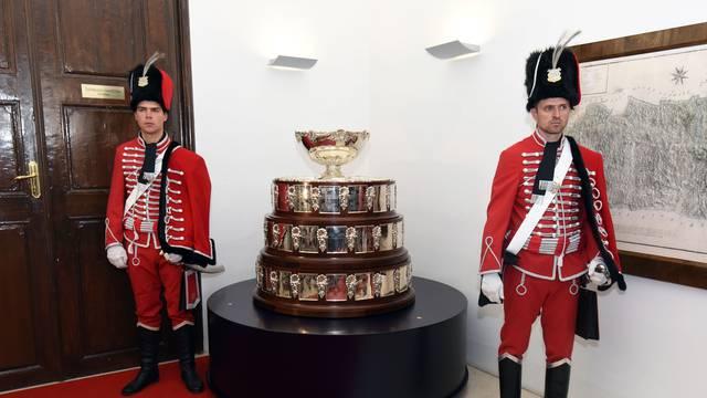 Varaždin: Predstavljanje Davis Cup trofeja