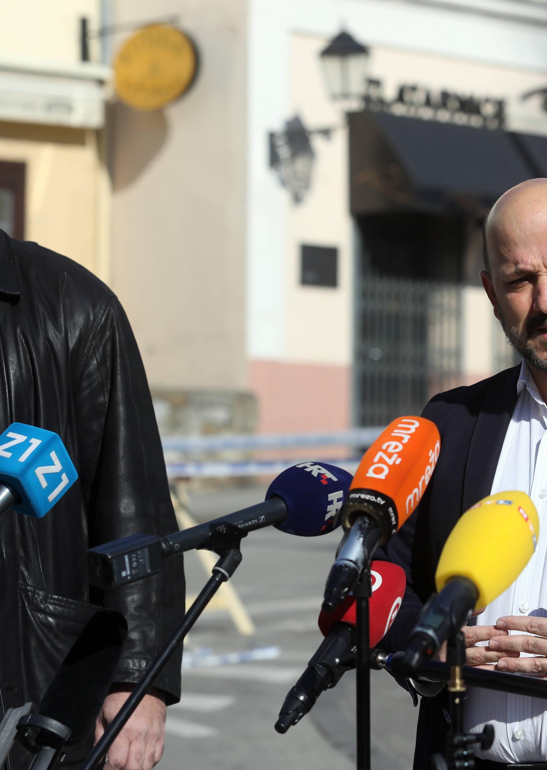 "Zagreb: Konferencija SDP-a s temom ""Problem sanacije grada i posljedice potresa"""