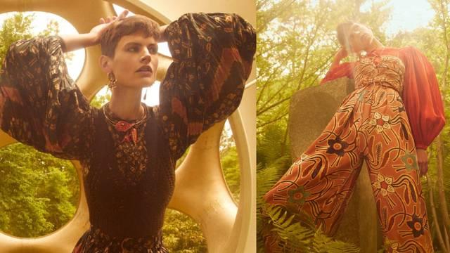 Kreacije za boho cure: Lepršave pletene haljine i prirodne boje