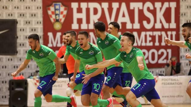 Split: Prva utakmica polufinala Kupa Hrvatske u futsal, MNK Olmissum - MNK Novo vrijeme