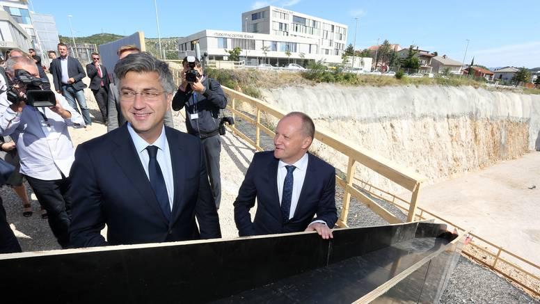 Plenković je položio temeljni kamen nove bolnice u Rijeci